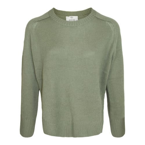 Allude olivengrøn cashmere sweater