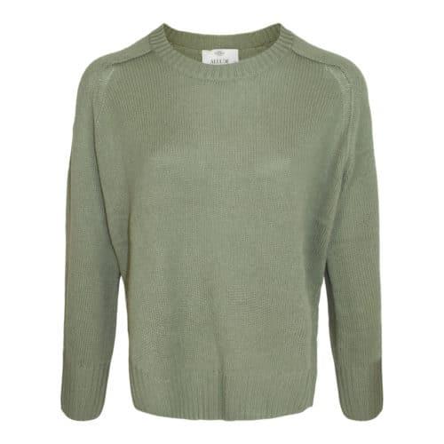 Allude olivengrøn cashmere sweater