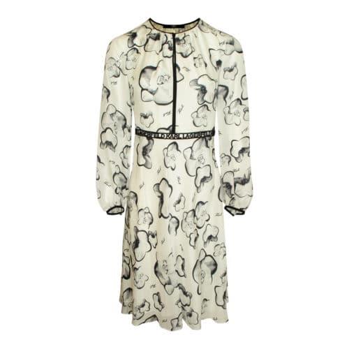 Karl Lagerfeld silke kjole