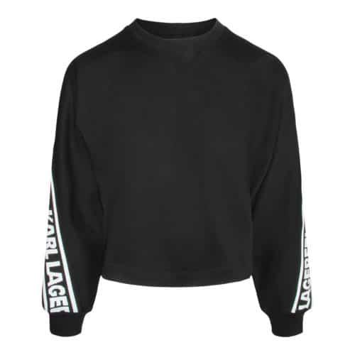 Karl Lagerfeld sweater med logo