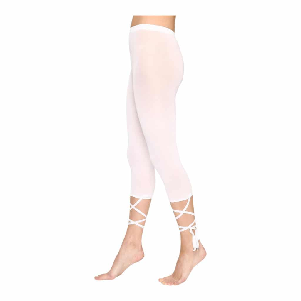 Wolford Lace Up I Hvid