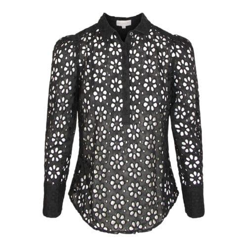 Dea Kudibal Sort skjorte Bluse
