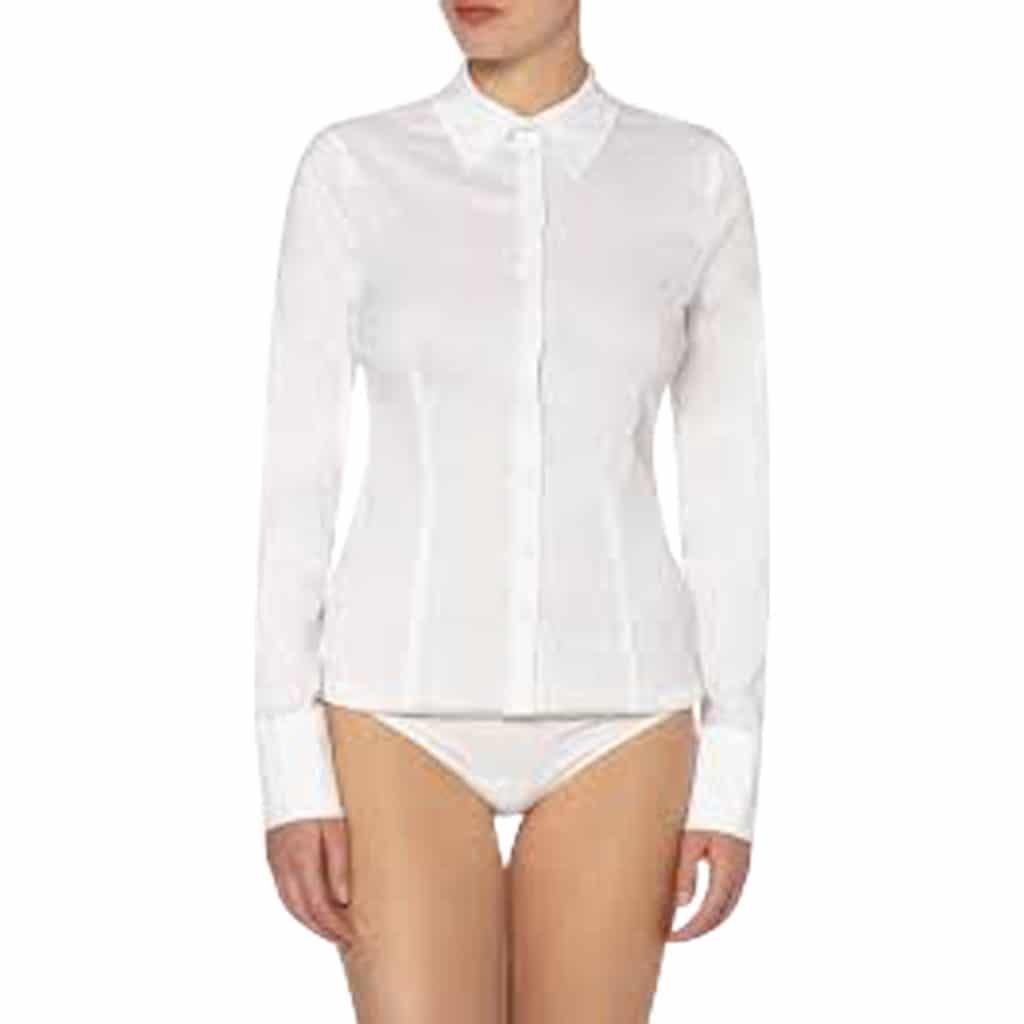 Wolford Skjorte Body I Hvid