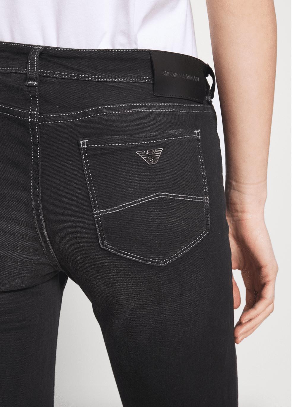 Emporio Armani Sort Jeans
