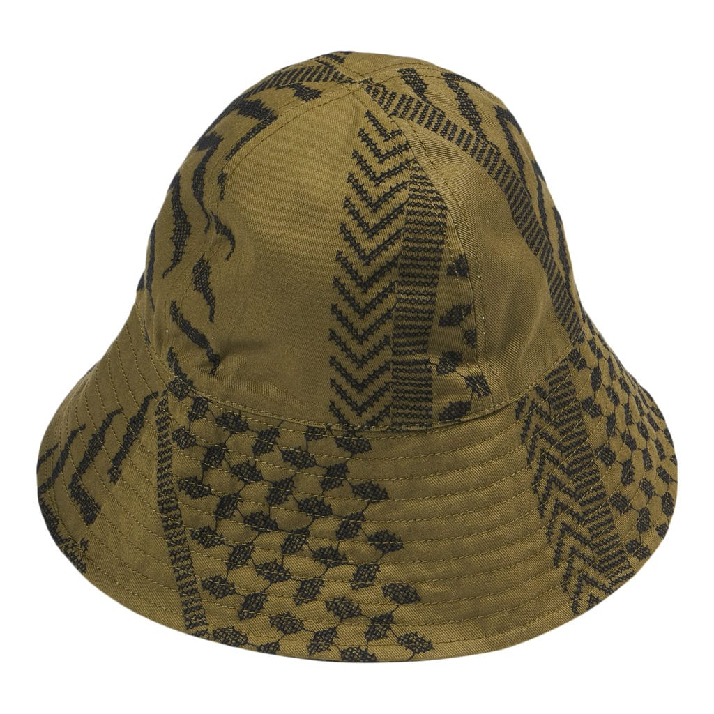 Lala Berlin Bucket Alvis Kufiya Hat Olive