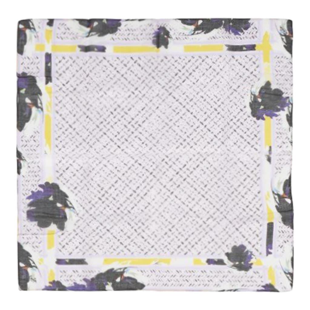 Lala Berlin cube  Bloom Tørklæde Flower Lilac