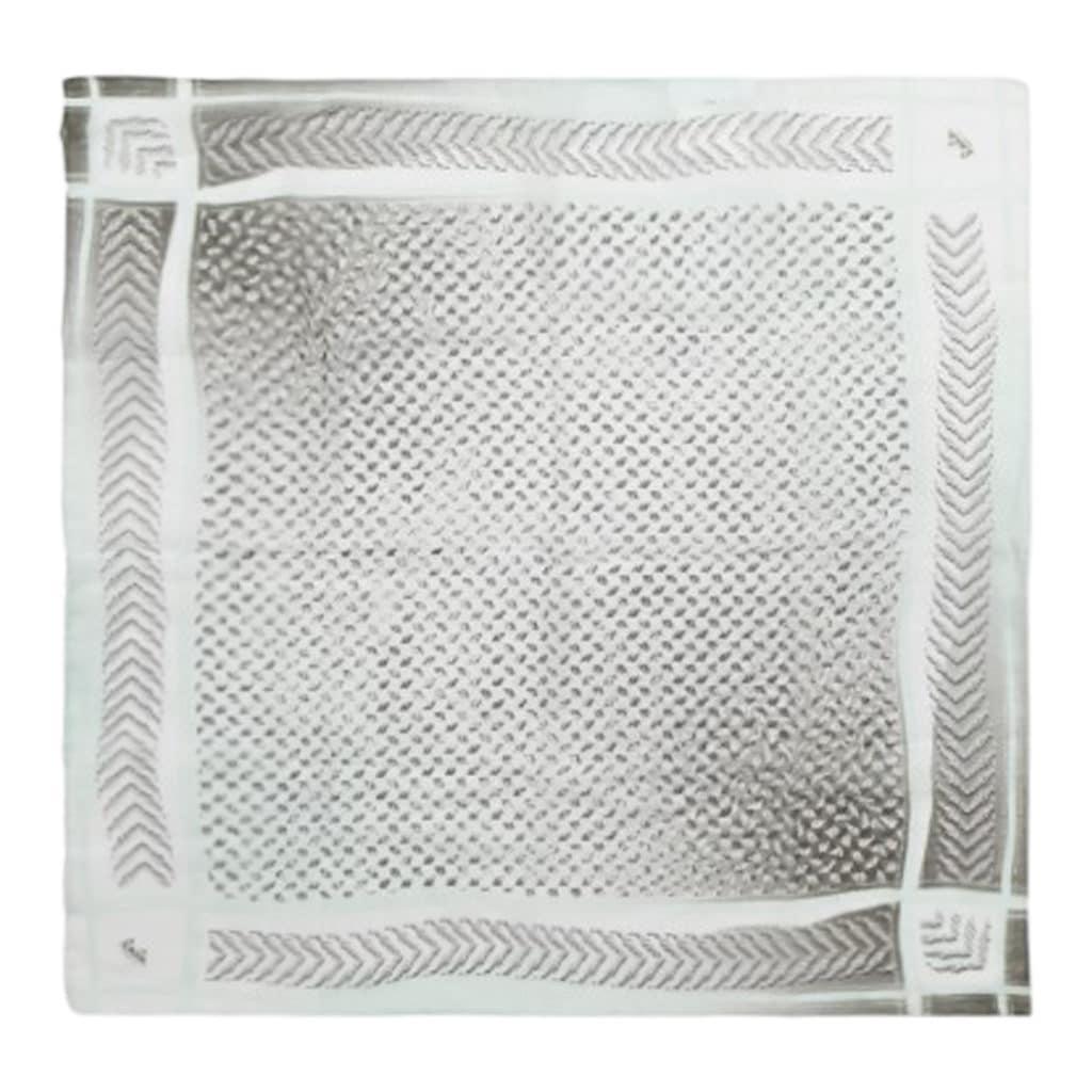 Lala Berlin Cube Lattica Tørklæde Kufiya Mint Olive