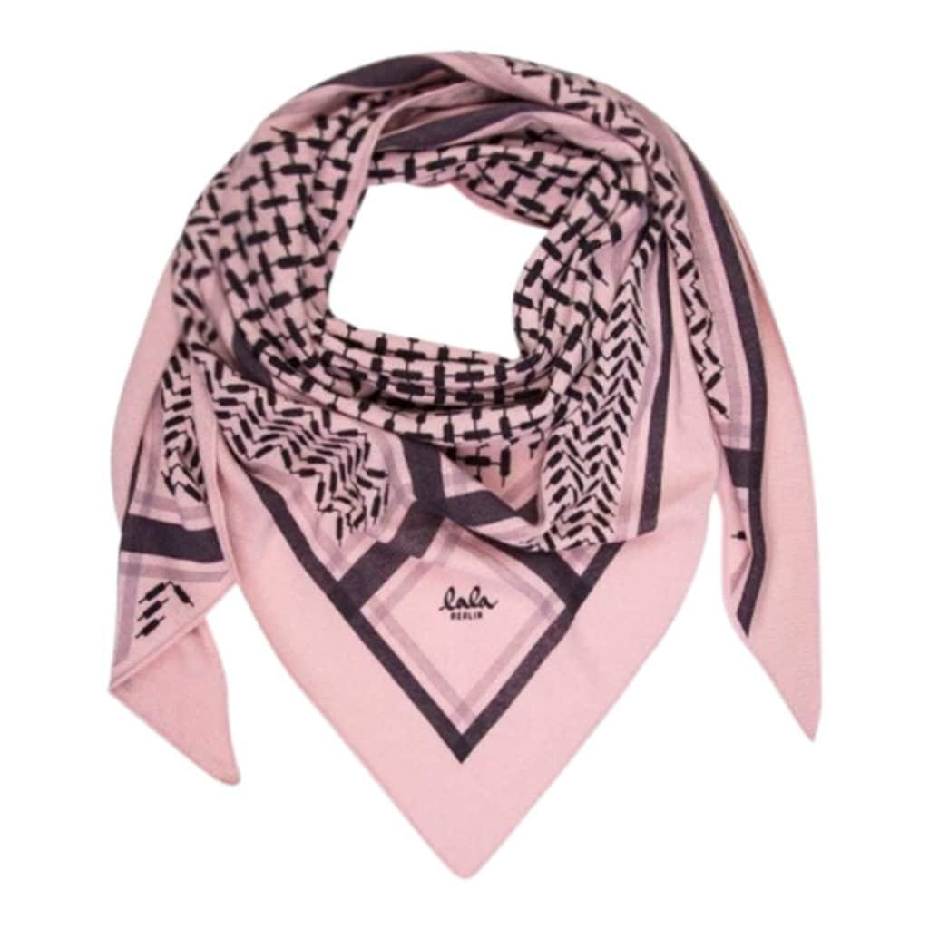 Lala Berlin Triangle Trinity Classic Tørklæde Candy
