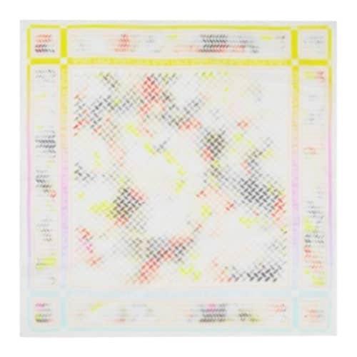 Lala Berlin Cube Holographic Silke Tørklæde