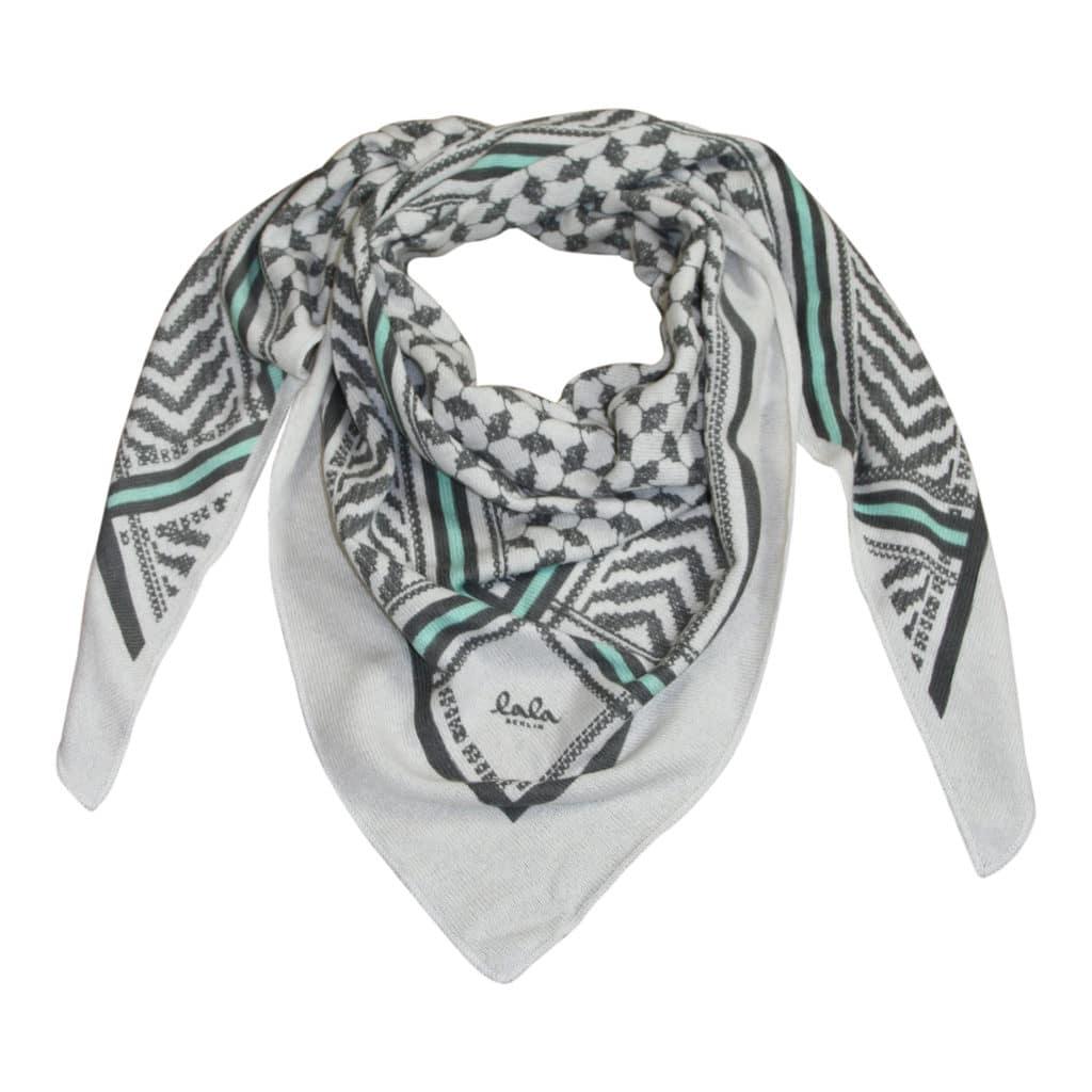 Lala Berlin Triangle Lattice Tørklæde Mint on Alabastro