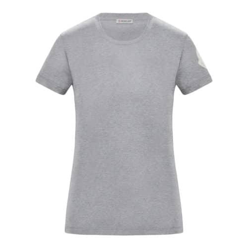 Moncler T-shirt Girocollo Grå