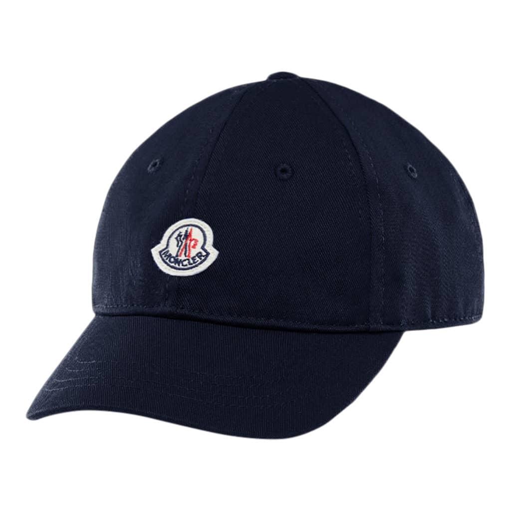 Moncler Berretto Baseball Cap Navy