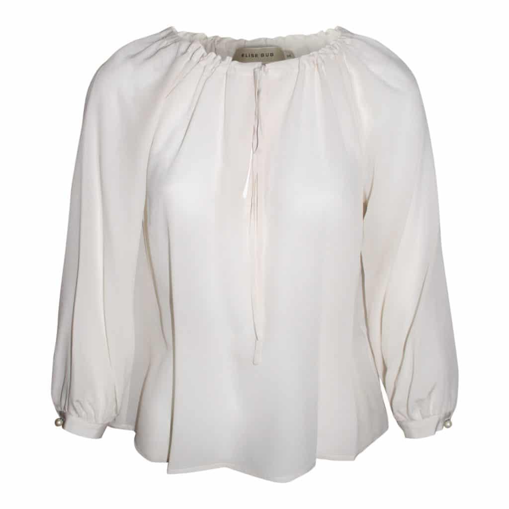 Elise Gug Cream Bluse
