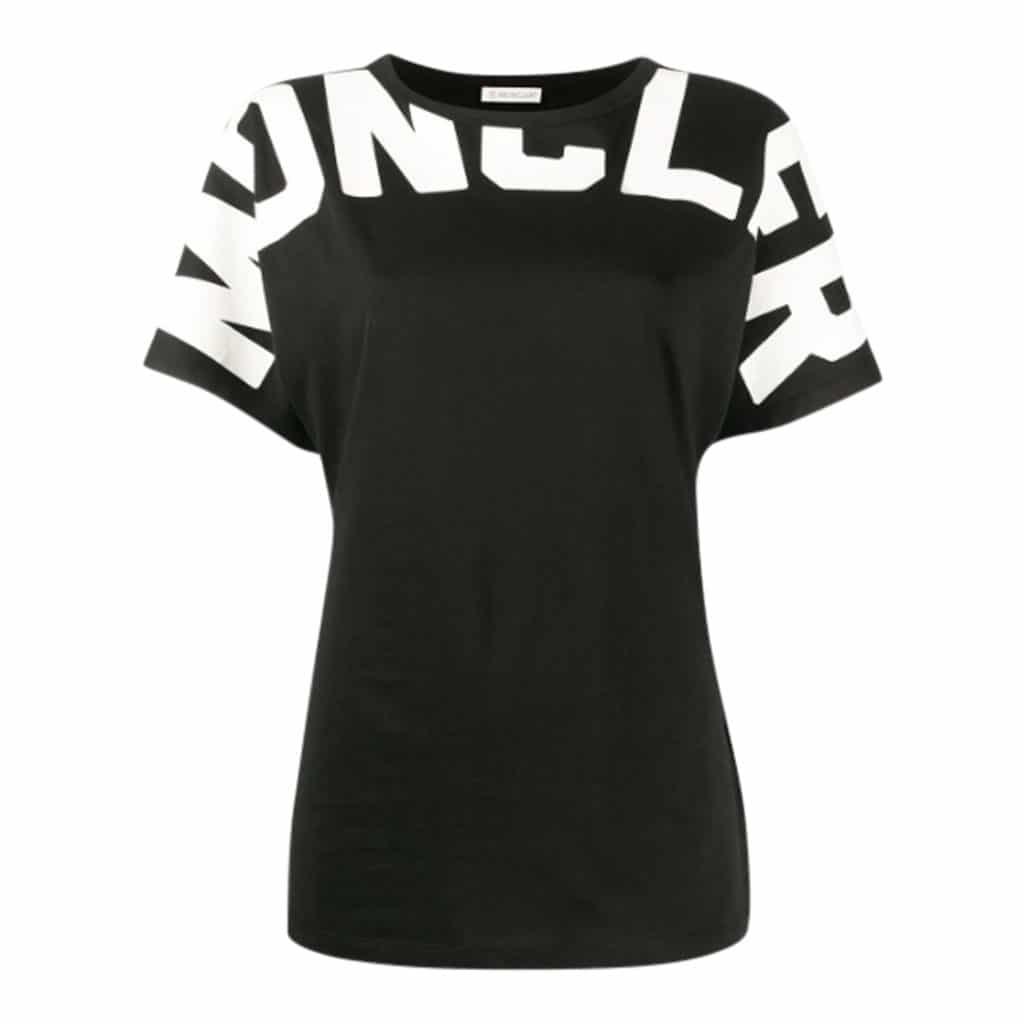 Moncler Girocollo T-shirt Med Skrift