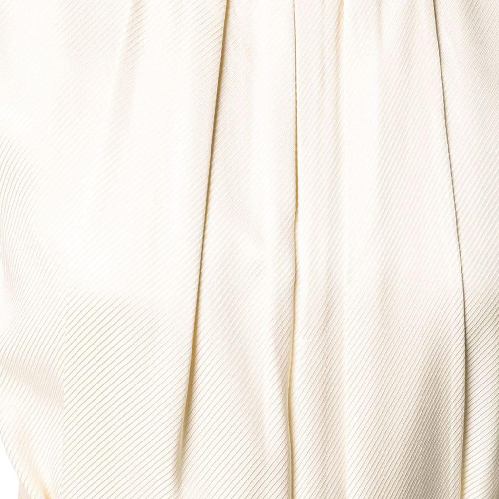 Emporio Armani Woven Cream Kjole