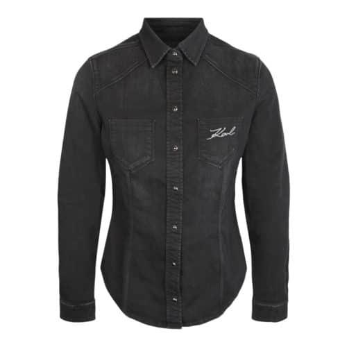 Karl Lagerfeld Denim Skjorte