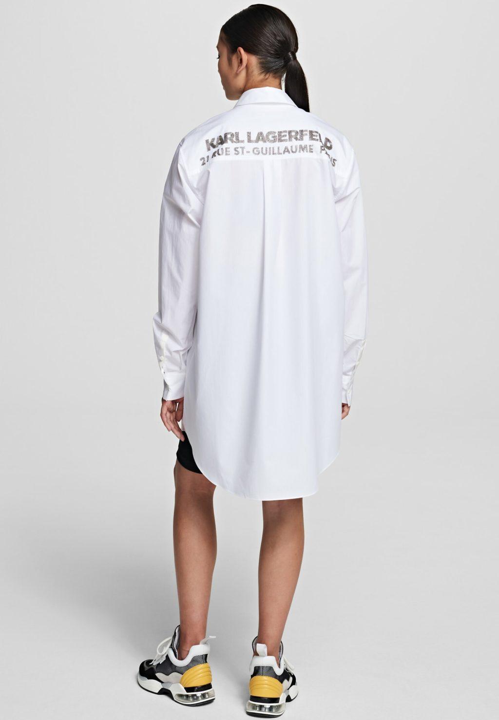 Karl Lagerfeld skjortebluse