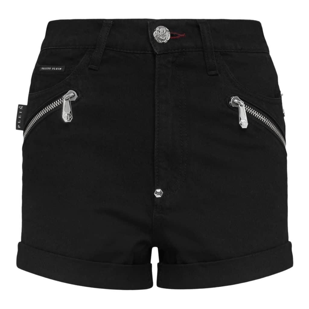 Philipp Plein Zipped Shorts