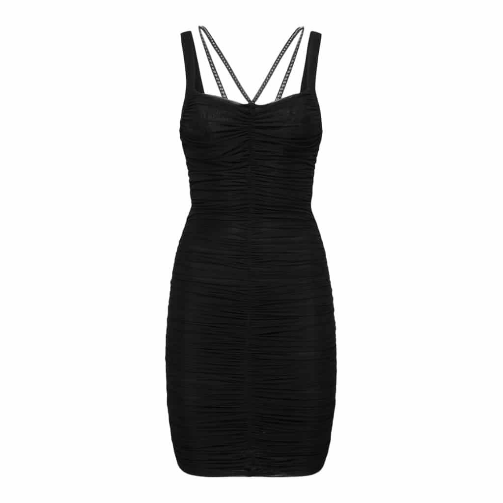 Philipp Plein kort kjole studs