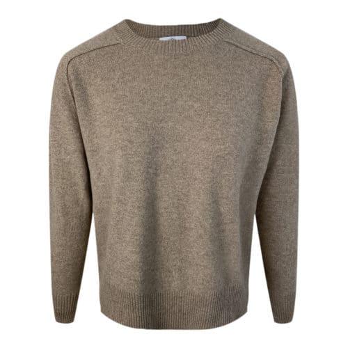 ALLUDE Brun Cashmere Sweater