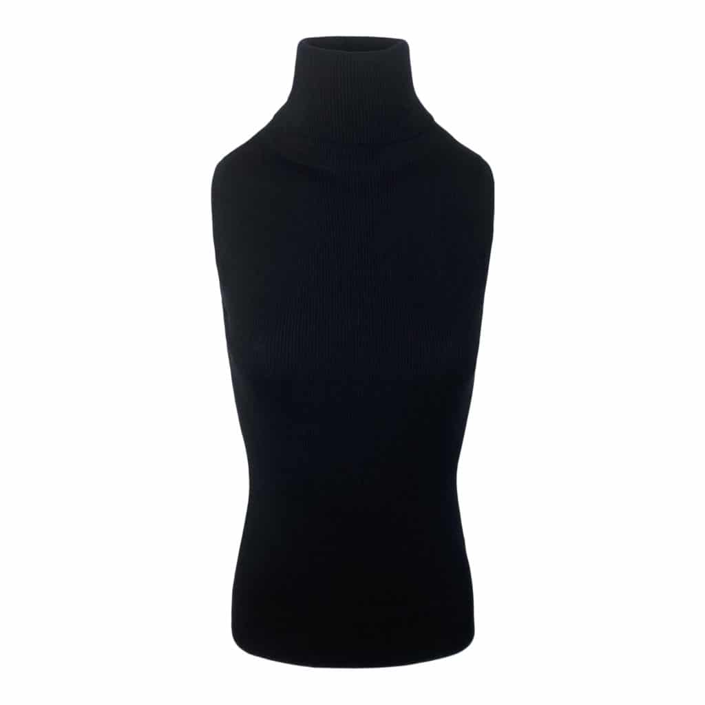 Allude Sort Rullekrave Top