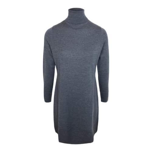 Allude Uld kjole grå