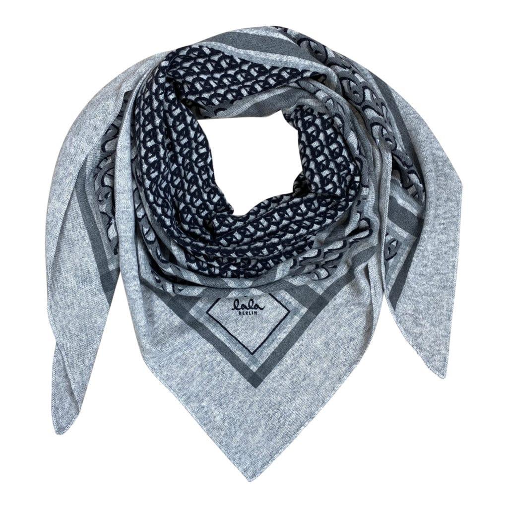 Lala Berlin Triangle Monogram M Tørklæde