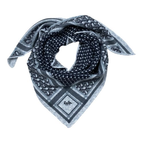 Lala Berlin Triangle Monogram S Tørklæde