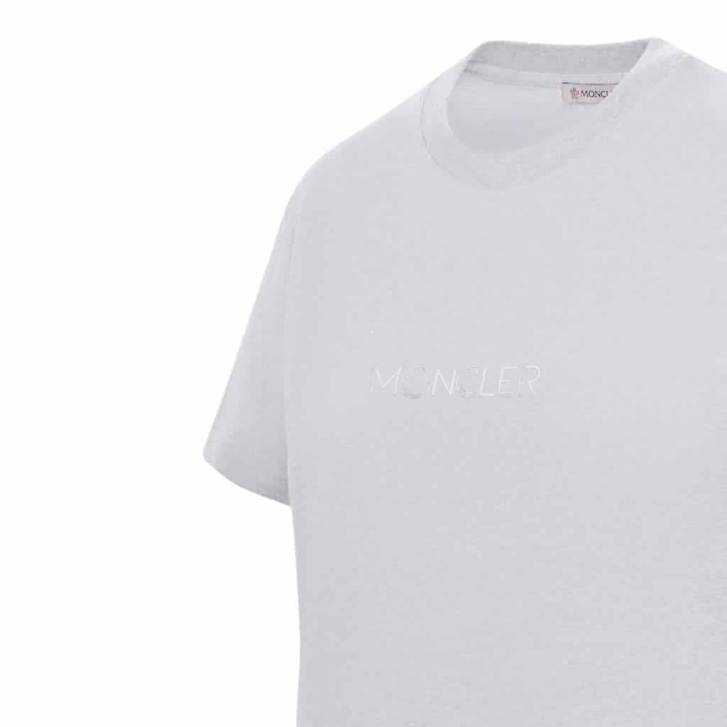 Moncler Hvid T-shirt