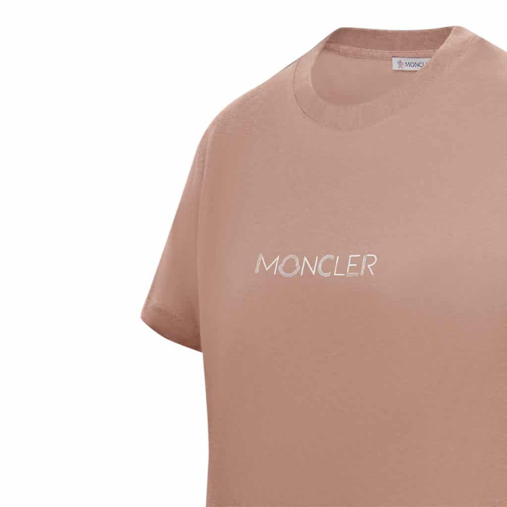 Moncler Rosa T-shirt