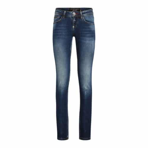 Philipp Plein Slim Fit Statement Jeans