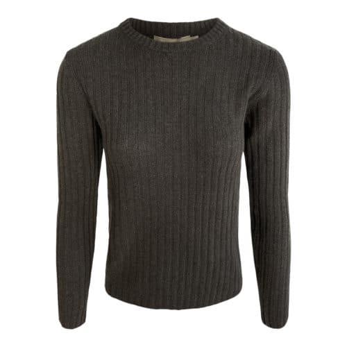 Elise Gug Brun Rib Sweater