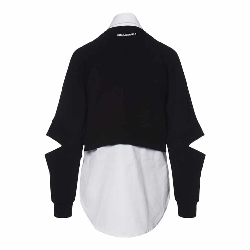 Karl Lagerfeld Dobbelt lag Sweatshirt