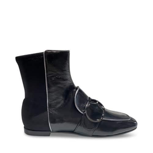 Emporio Armani Gunmetal Støvler