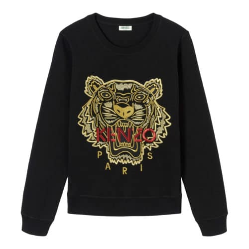 Kenzo Guld Tiger Sweatshirt