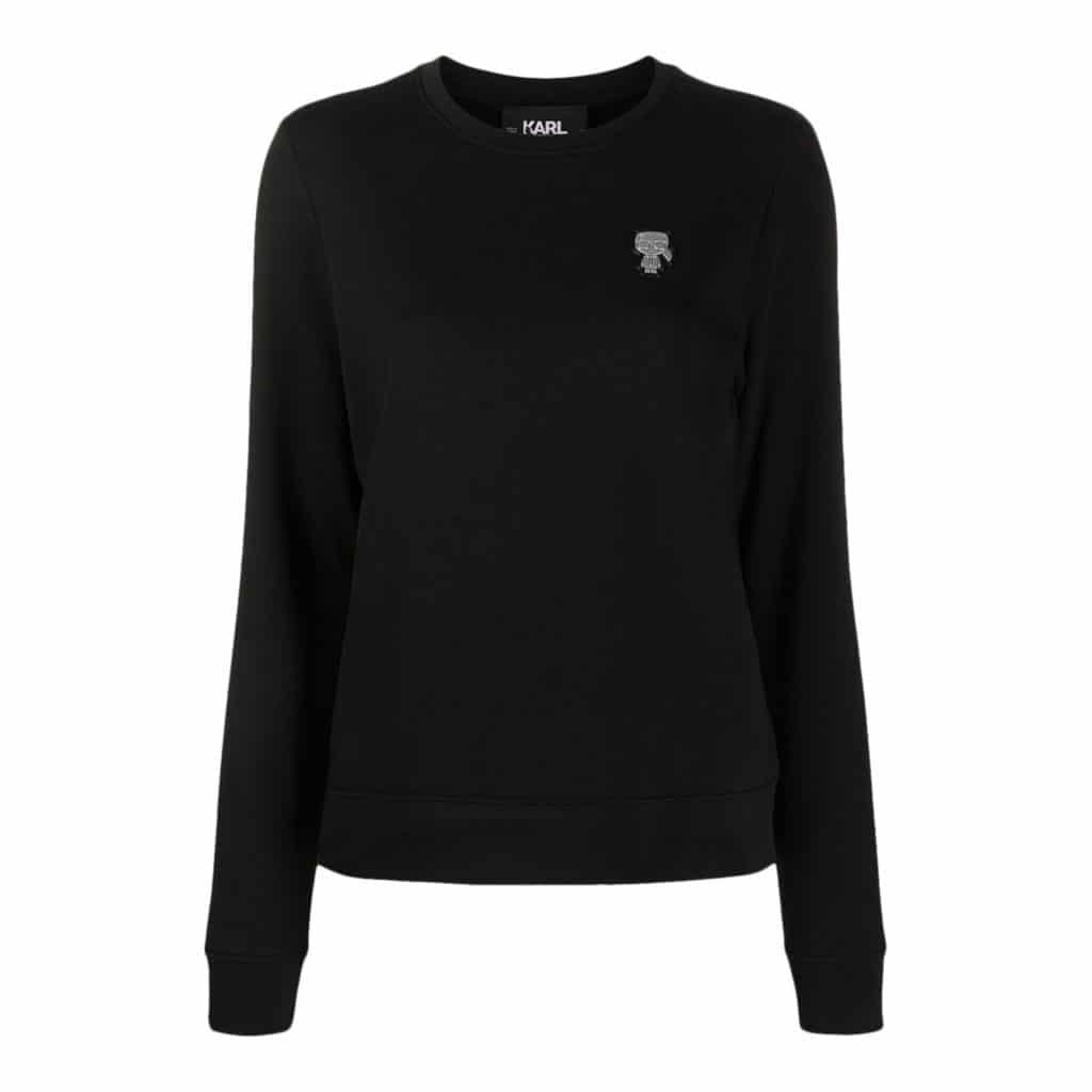 Karl Lagerfeld Mini Patch Sweater