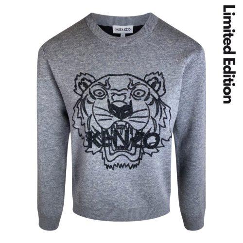 Kenzo grå Sweater
