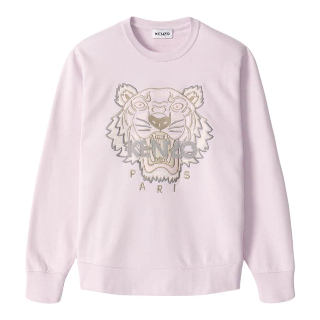 Kenzo Tiger Lyserød/Grå Sweatshirt