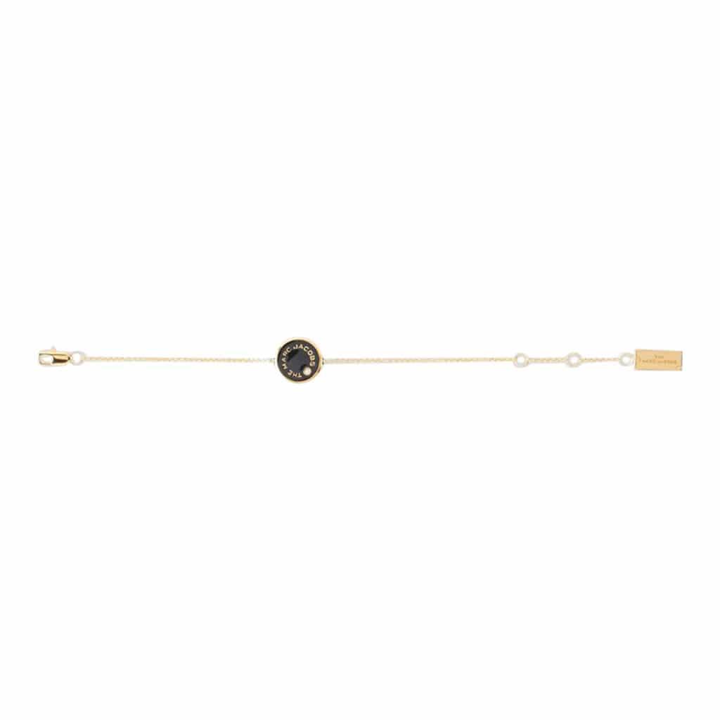 Marc Jacobs Medallion Armbånd Guld/Sort