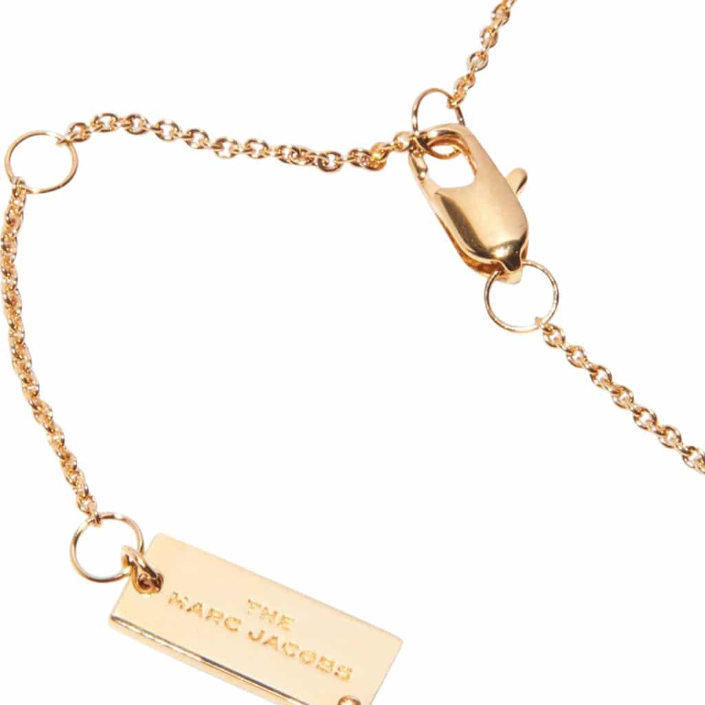 Marc Jacobs The Medallion Guld/Sort