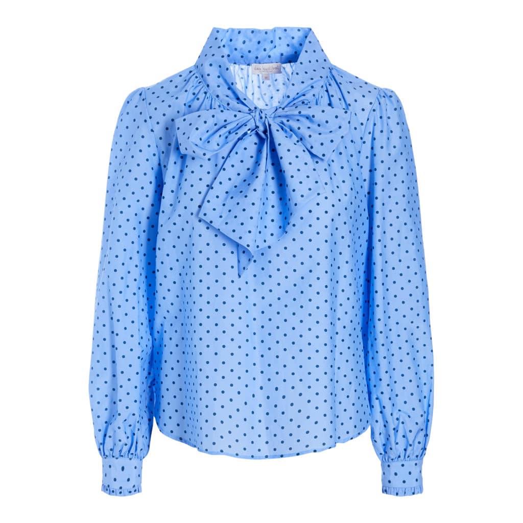 Dea Kudibal Le Dot Blue Bluse