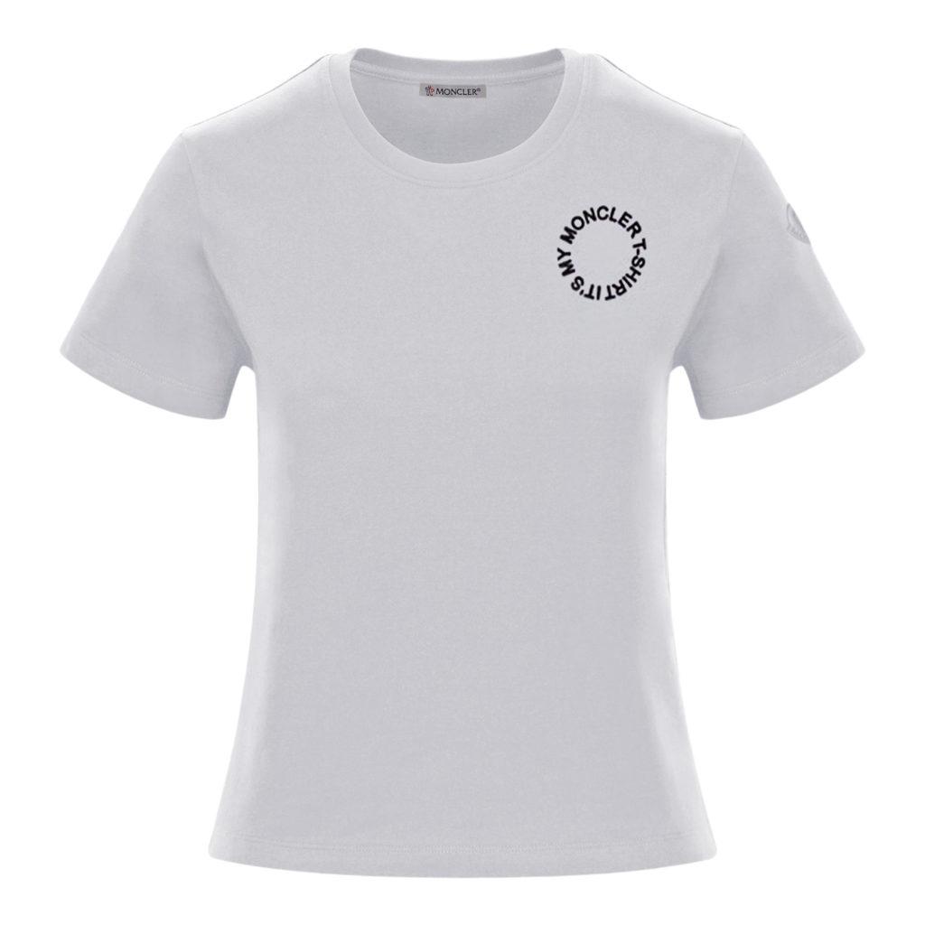 Moncler Round Logo t-shirt