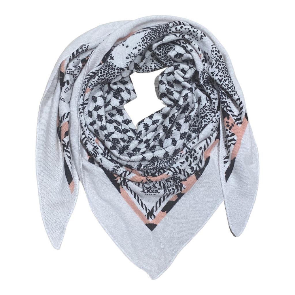 Lala Berlin TriangleLattice Cheeta M Tørklæde