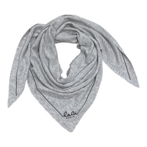 Lala Berlin Triangle Solid Logo Flanella Tørklæde