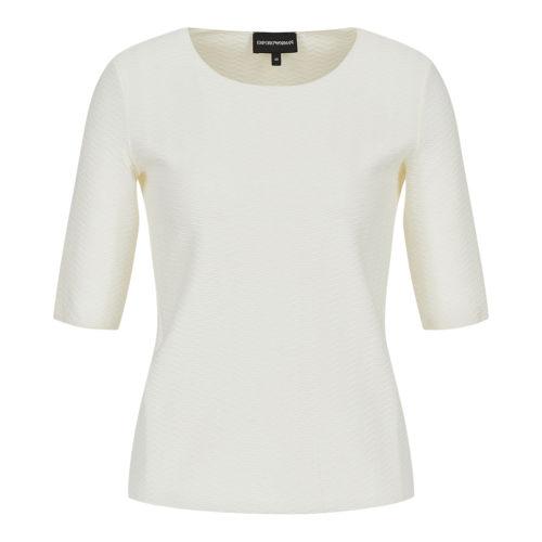 Emporio Armani Cream Bluse