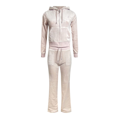Juicy Couture Nude Velour set