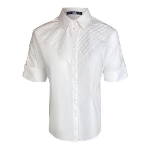 Karl Lagerfeld Hvid Bluse