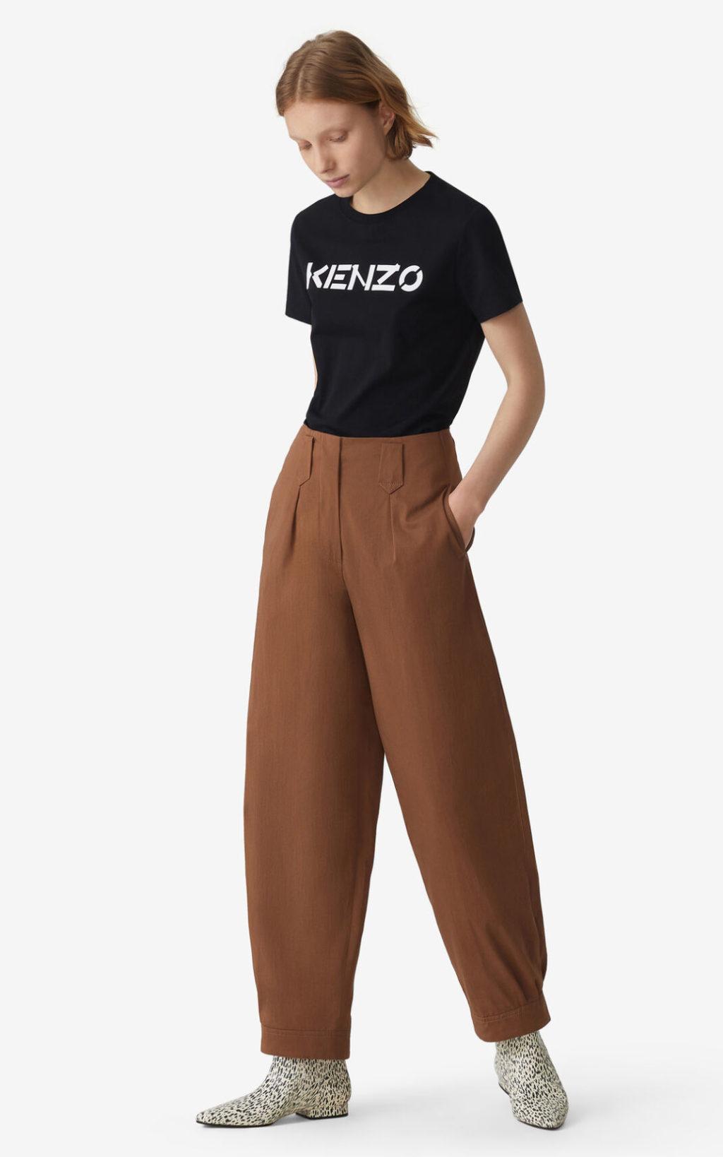 Kenzo Hvid Logo t-shirt