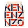 Kenzo Grå Logo Strik