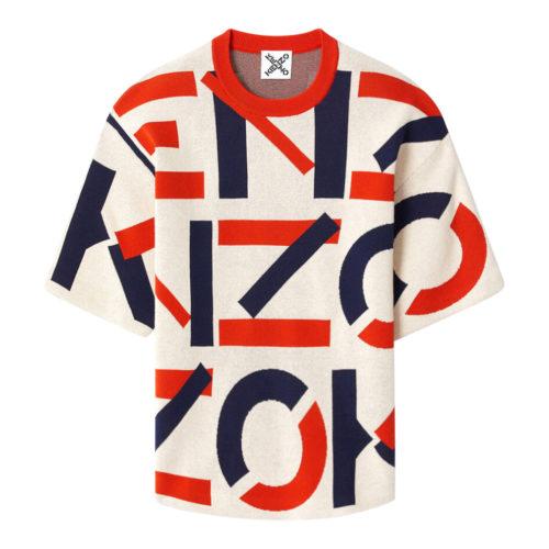 Kenzo Orange Monogram Top
